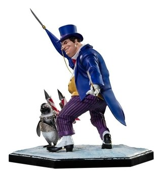 Pinguim - The Penguin 1/10 Deluxe - Dc Comics - Iron Studios