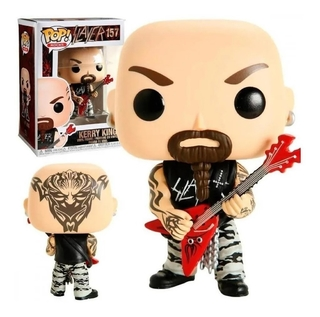 Boneco Funko Pop Rocks Slayer Kerry King 157