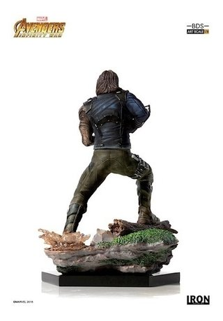 Winter Soldier Bds 1/10 - Infinity War - Iron Studios