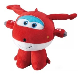 Super Wings Pelúcia Pequena Jett Fun 80086