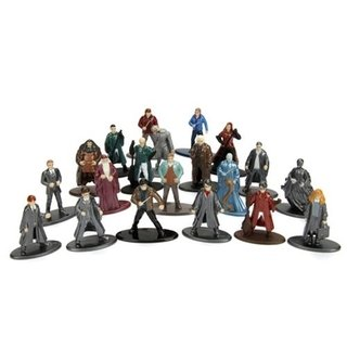 Bonecos De Metal Nano Harry Potter Pack Com 20 Jada - Dtc