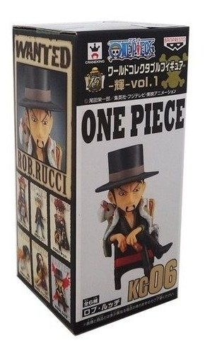 One Piece Wcf Rob Rucci 06 Banpresto Log Collection