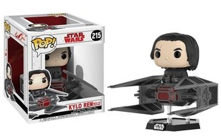 Kylo Ren In Tie Fighter Star Wars Os Últimos Jedi #215 Funko