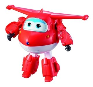 Avião Super Wings - Jett Change Em Up - Intek - 80064