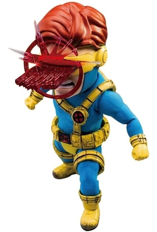 Cyclops X-men Marvel Comics Egg Attack Action Beast Kingdom (não lacrado)