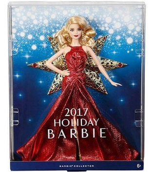 Boneca Barbie Collector 2017 Holiday Loira Dyx39 Mattel