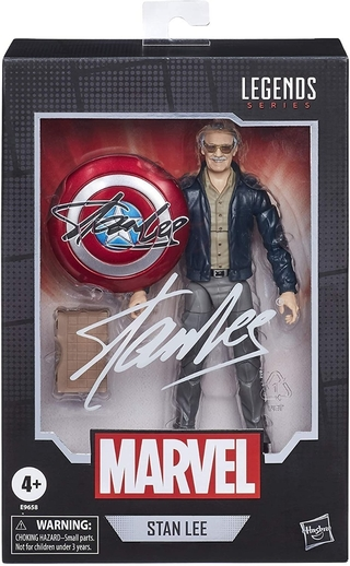 Boneco Marvel Legends Series Stan Lee R9658 Hasbro