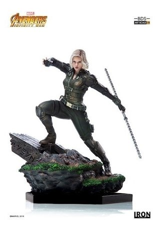 Black Widow Bds 1/10 - Avengers Infinity War - Iron Studios