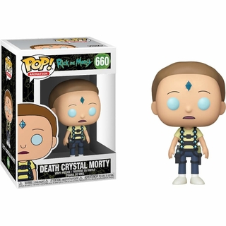 Boneco Funko Pop Rick And Morty Death Crystal Morty 660