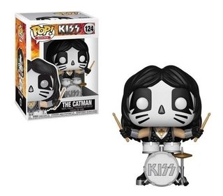 Funko Pop Rocks Kiss The Catman #124 - Com Inmetro