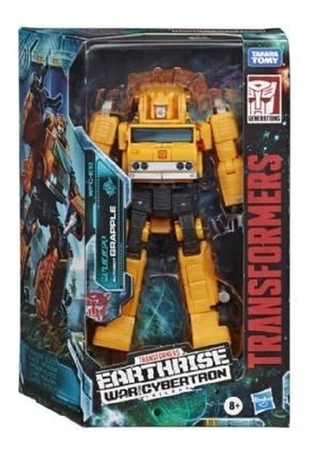 Transformers Earthrise Cybertron Trilogy Grapple Hasbro