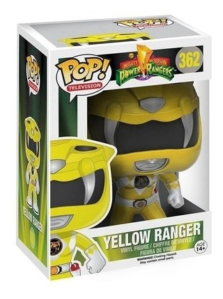 Funko Pop Power Rangers Yellow ( Amarelo ) #362