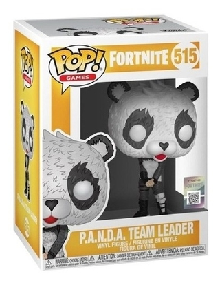 Boneco Funko Pop Games Fortnite Panda Team Leader 515