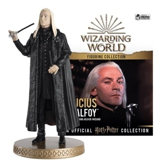Harry Potter Wizarding World Lucius Malfoy 1/16 Eaglemoss