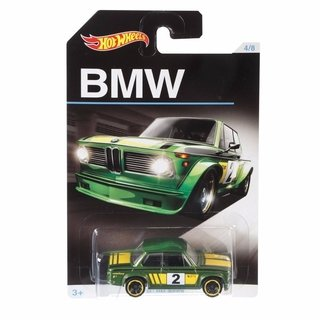 Hot Wheels - Clássicos Bmw - Bmw 2002 - Mattel Djm79