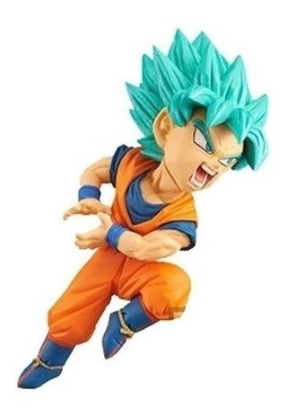 Dragon Ball Goku Super Saiyan Blue Wcf 049 Banpresto