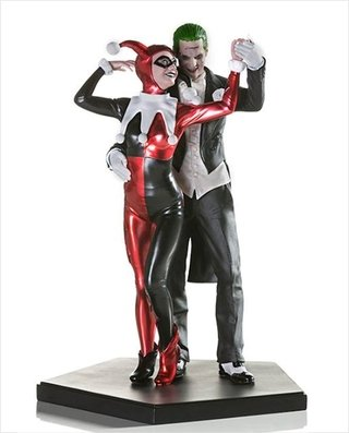 Harley Quinn & The Joker - 1/10 Deluxe - Iron Studios