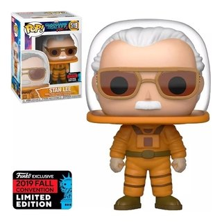 Sta Lee #519 - Guardians Of The Galaxy Funko Pop Com Inmetro