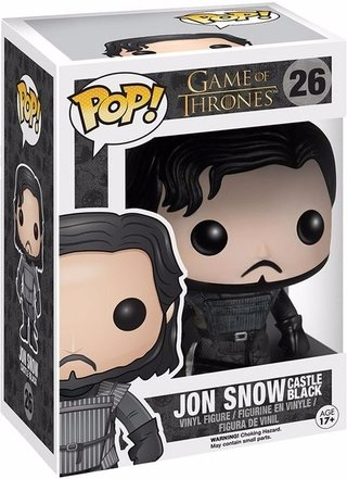 Funko Pop Game Of Thrones: Jon Snow Castle Black #26