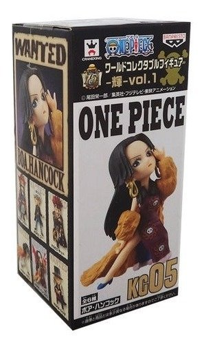 One Piece Wcf Boa Hancock 05 Banpresto Log Collection