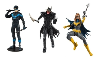 Kit Com 3 Nightwing Batgirl Batman Who Laughs Multiverse