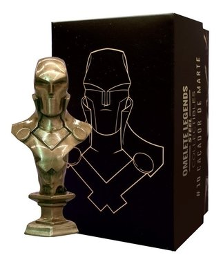 Caçador De Marte Mini Busto De Metal Steel Legends Omelete