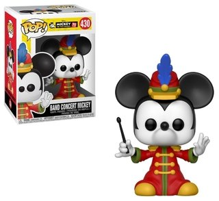 Mickey Band Concert 430 - Disney Mickey 90 Anos - Pop Funko