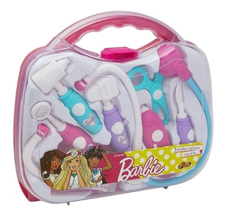 Maleta Kit Médico Da Barbie Infantil Fun 74966