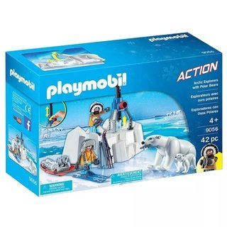 Playmobil Action Explorador Com Urso Polar - 9056 - Sunny