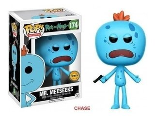 Mr Meeseeks Rick And Morty - Limited Ed Chase Pop Funko 174