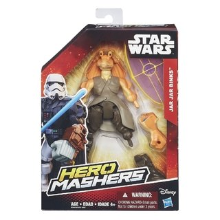 Star Wars Hero Mashers Jar Jar Binks B3656 Hasbro