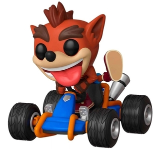 Boneco Funko Pop Rides Crash Bandicoot Ctr 64