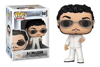 Boneco Aj Mclean 141 Backstreet Boys Pop Funko Rocks