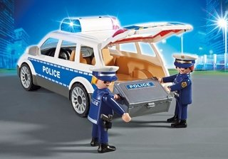 Playmobil City Action Viatura Policial C/ Guardas 6920 Sunny