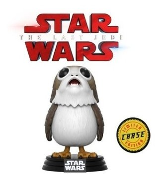 Porg - Star Wars Vlll -  Limited Edition Chase Pop Funko 198