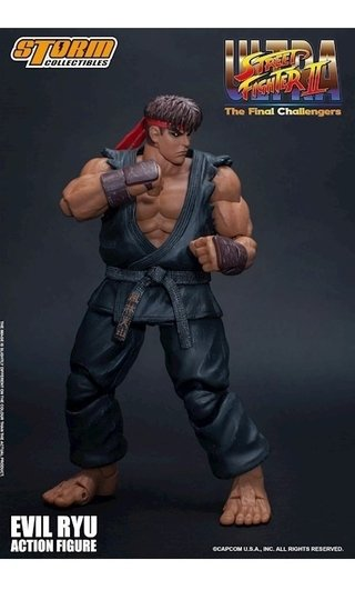 Evil Ryu Ultra Street Fighter Ii - Storm Collectibles