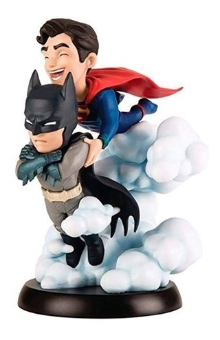 Batman E Superman World's Finest - Q-fig - Quantum Mechanix