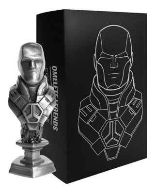 Lex Luthor Mini Busto De Metal Steel Legends Omelete Box