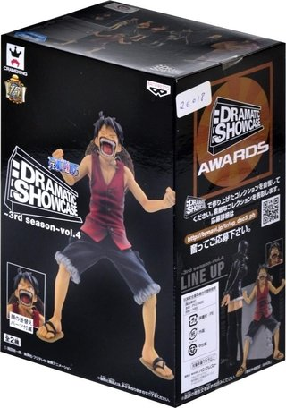 One Piece Dramatic Showcase 3rd Seaso Monkey Luffy Banpresto