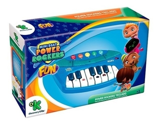 Mini Beat Power Rockers Teclado Infantil Com Luz E Som Fun