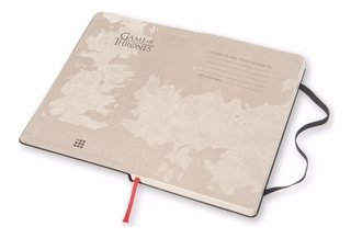Caderno Moleskine Gde Sem Pauta Ed Ltda Game Of Thrones 3106