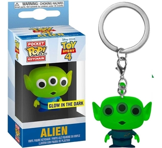 Chaveiro Funko Pop Toy Story Alien Glow In The Dark Special