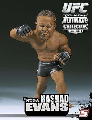 Rashad Suga Evans Ufc Round 5 Ultimate Collector