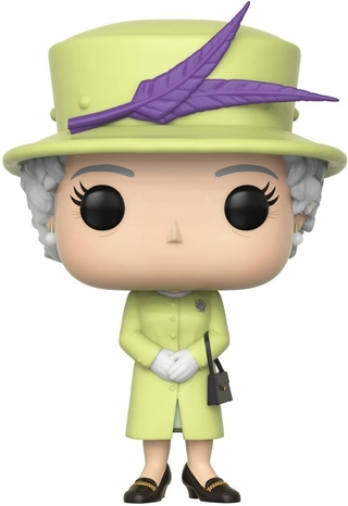 Boneco Funko Pop Royals Queen Elizabeth Ii 01