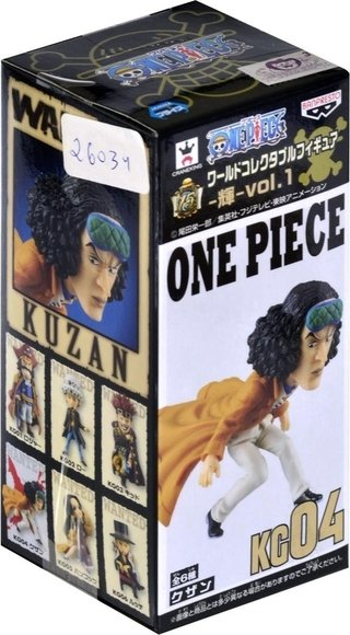 One Piece Wcf Kuzan 04 Banpresto Log Collection