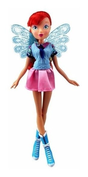 Boneca Winx Club - Fairy School - Bloom 30 Cm - Wxef001