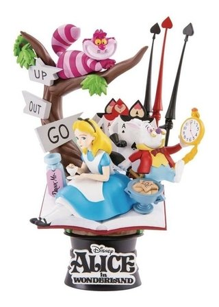 Alice In The Wonderland - Disney - D-stage - Beast Kingdom