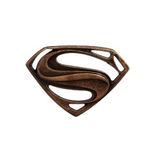 Superman Pin Botton De Metal Steel Legends Omelete Box
