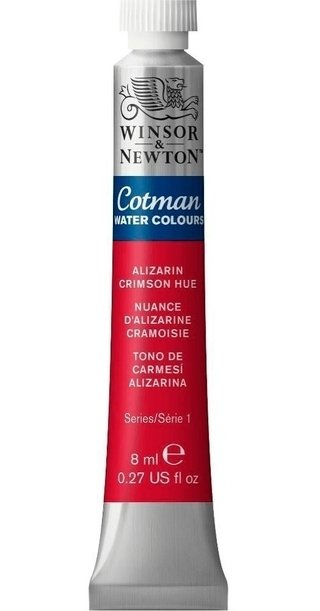 Aquarela Winsor & Newton Cotman 8ml Alizarin Crimson 0303003