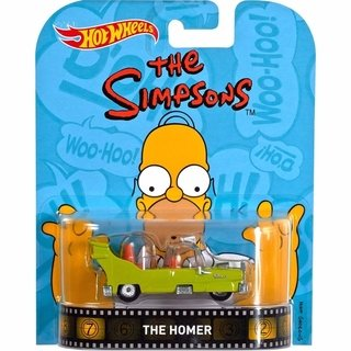 Hot Wheels - The Simpsons - The Homer - Dmc55 Mattel